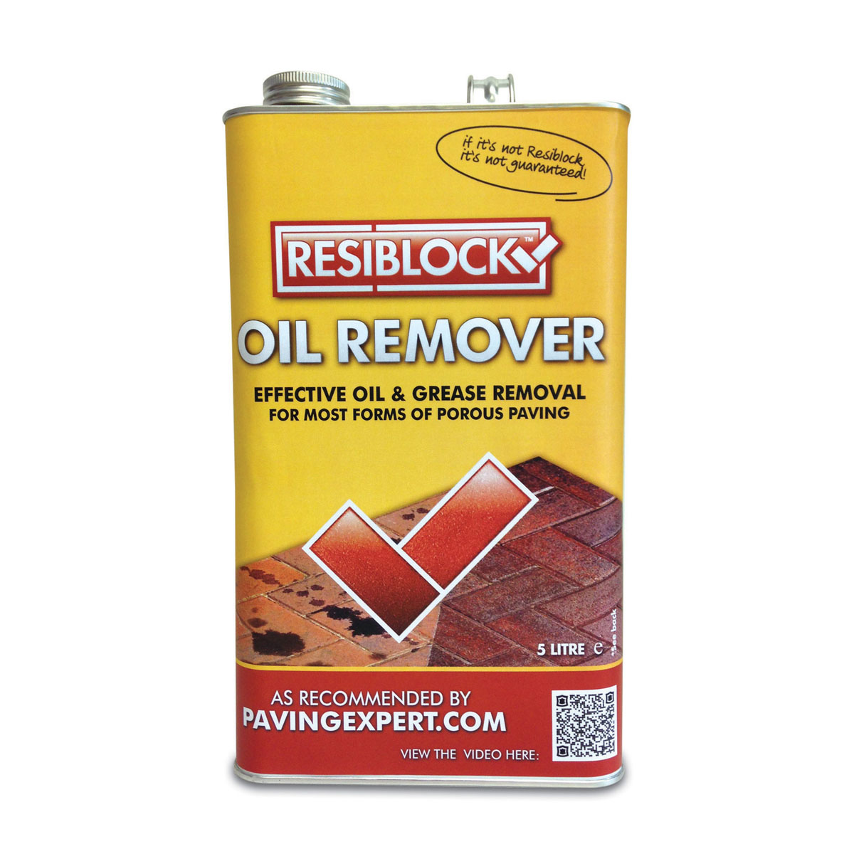 Resiblock Oil Remover